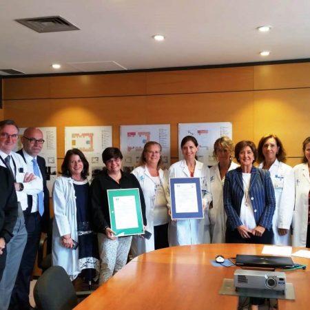 Hospital Santa Cristina Certificados de Calidad y Medio Ambiente