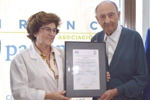 Certificado ISO Asociacion Parkinson la Roda