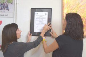 Certificado ISO Asociación Parkinson la Roda